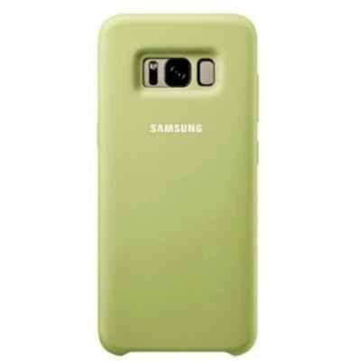 Чехол для смартфона Samsung Galaxy S8+зеленый (EF-PG955TGEGRU) (EF-PG955TGEGRU) чехол клип кейс samsung silicone cover для samsung galaxy s8 зеленый [ef pg950tgegru]