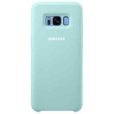 Чехол для смартфона Samsung Galaxy S8 голубой (EF-PG950TLEGRU) (EF-PG950TLEGRU) клип кейс samsung silicone cover для galaxy s8 зеленый