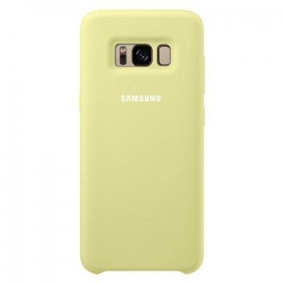 Чехол для смартфона Samsung Galaxy S8 зеленый (EF-PG950TGEGRU) (EF-PG950TGEGRU) чехол клип кейс samsung silicone cover для samsung galaxy s8 зеленый [ef pg950tgegru]