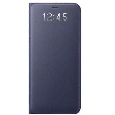 Чехол для смартфона Samsung Galaxy S8+ фиолетовый (EF-NG955PVEGRU) (EF-NG955PVEGRU) чехол клип кейс samsung protective standing cover great для samsung galaxy note 8 темно синий [ef rn950cnegru]