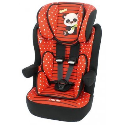 Детское автокресло Nania IMax SP (panda red) от 9 до 36 кг (1/2/3) (928246)