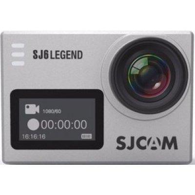 Экшн камера SJCAM SJ6 Legend серебристый (SJ6LEGEND_SILVER) экшн камера sjcam m20 sjm20black