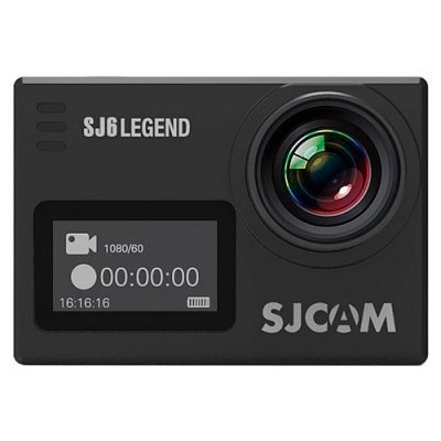 Экшн камера SJCAM SJ6 Legend черный (SJ6LEGEND_BLACK) sjcam sj5000 plus black экшн камера