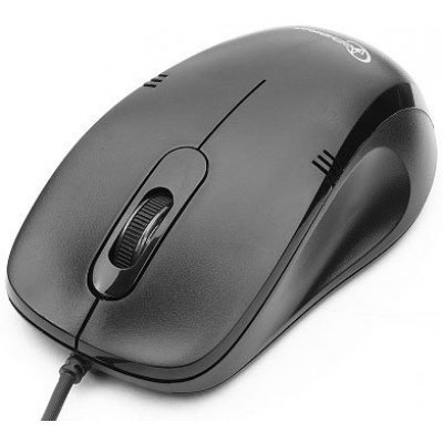 все цены на  Мышь Gembird MOP-100 черный (MOP-100 black)  онлайн
