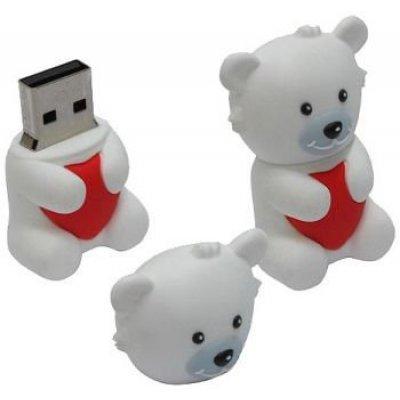 USB накопитель ICONIK RB-BEARW-8GB (RB-BEARW-8GB) флешка usb 8gb iconik овечка rb sheepi 8gb