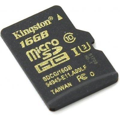 Карта памяти Kingston MicroSDHC 16GB (SDCG/16GBSP) (SDCG/16GBSP)