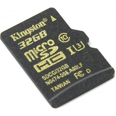 Карта памяти Kingston MicroSDHC 32GB (SDCG/32GBSP) (SDCG/32GBSP) карта памяти other jvin 8gtf
