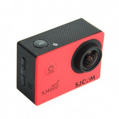 Экшн камера SJCAM SJ4000 красный (SJ4000RED) экшн камера sjcam m20 sjm20black