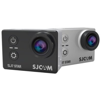 Экшн камера SJCAM SJ7 Star серебристый (SJ7STAR_SILVER) sjcam sj5000 plus black экшн камера