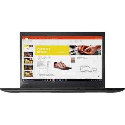 Ноутбук Lenovo ThinkPad T470s (20HF0000RT) (20HF0000RT) lenovo thinkpad x1 carbon g5 [20hr0021rt] black 14 fhd i5 7200u 8gb 256gb ssd w10pro