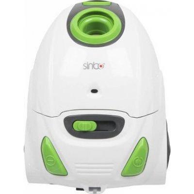 Пылесос Sinbo SVC 3485GZ белый/зеленый (SVC 3485Z) svc