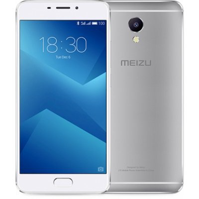 Смартфон Meizu M5 Note 16Gb (M621H) Серебристый (M621H-16-S) смартфон meizu m5 note m621h 16gb серебристый