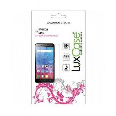 Пленка защитная для смартфонов LuxCase Meizu M5s (Защитное стекло) (82154) аксессуар защитная пленка asus zenfone live zb553kl luxcase суперпрозрачная 55823