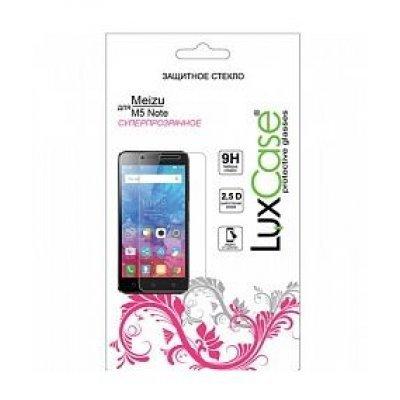 Пленка защитная для смартфонов LuxCase Meizu M5 Note (Защитное стекло) (82140) аксессуар защитная пленка asus zenfone live zb553kl luxcase суперпрозрачная 55823