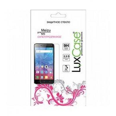 Пленка защитная для смартфонов LuxCase Meizu M5 (Защитное стекло) (82142)Пленки защитные для смартфонов LuxCase<br>Защитное стекло LuxCase для Meizu M5 82142<br>
