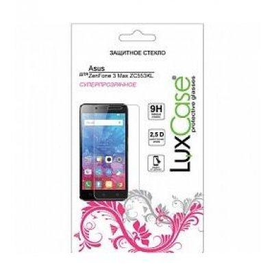 Пленка защитная для смартфонов LuxCase ASUS ZenFone 3 Max ZC553KL (Защитное стекло) (82145) luxcase защитная пленка luxcase для asus zenfone 3 max zc553kl