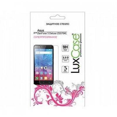 Пленка защитная для смартфонов LuxCase ASUS ZenFone 3 Deluxe ZS570KL (Защитное стекло) (82131) аксессуар защитная пленка asus zenfone live zb553kl luxcase суперпрозрачная 55823