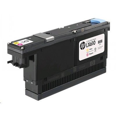 Печатающая головка HP LX610 Yellow and Magenta Printhead (CN667A) картридж для принтера hp lx610 cn668a cyan and black printhead
