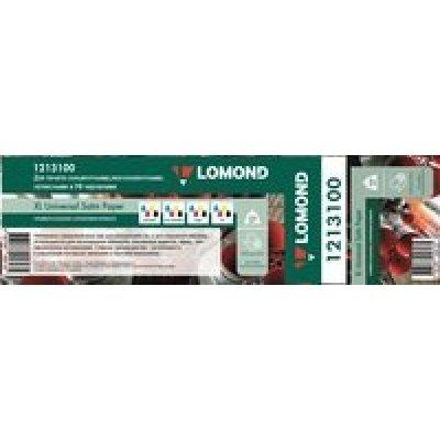 Бумага для принтера Lomond Solvent 1213100 50  1270мм-50м/200г/м2/белый сатин для сольвентной/латексной/УФ печати втулка:76.2мм (3 ) (1213100), арт: 264803 -  Бумага для принтера Lomond