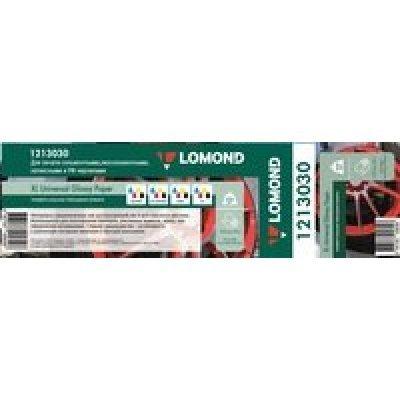 Бумага для принтера Lomond Solvent 1213030 50  1270мм-50м/200г/м2/белый глянцевое для сольвентной/латексной/УФ печати втулка:76.2мм (3 ) (1213030), арт: 264808 -  Бумага для принтера Lomond