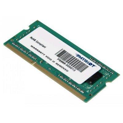 Модуль оперативной памяти ноутбука Patriot PSD34G160082S 4Gb DDR3 (PSD34G160082S), арт: 264811 -  Модули оперативной памяти ноутбука Patriot