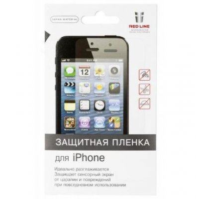 Пленка защитная для смартфонов Red line для задней крышки Redline для Apple iPhone 7 прозрачная (УТ000009882) пленка защитная для смартфонов red line apple iphone 7 plus прозрачная ут000009789