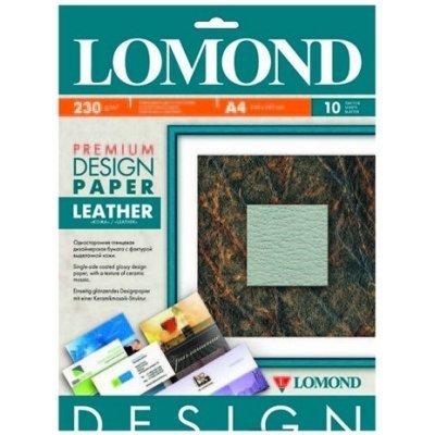 Фотобумага Lomond 0917141 A4/230г/м2/10л./белый матовое кожа для струйной печати (917141)