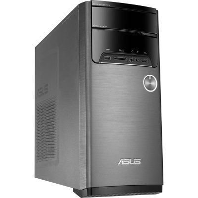 Настольный ПК ASUS M32CD-RU057T MT (90PD01J8-M18380) (90PD01J8-M18380)Настольные ПК ASUS<br>ПК Asus M32CD-RU057T MT i7 6700/8Gb/1Tb 7.2k/GTX950 2Gb/DVDRW/Windows 10/клавиатура/мышь/черный/серебристый<br>