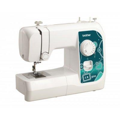 Швейная машина Brother LX500 белый (LX500) швейная машина brother lx 3500 белый