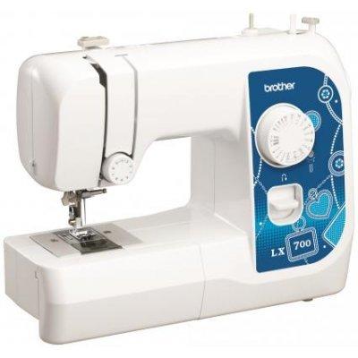 Швейная машина Brother LX700 белый (LX700) швейная машина brother lx 3500 белый