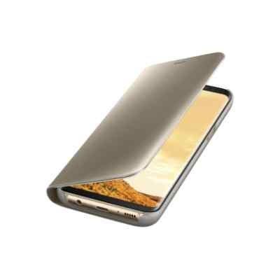 Чехол для смартфона Samsung Galaxy S8 золотистый (EF-ZG950CFEGRU) (EF-ZG950CFEGRU)