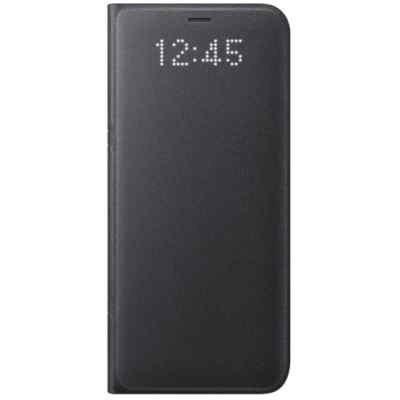 Чехол для смартфона Samsung Galaxy S8 черный (EF-NG950PBEGRU) (EF-NG950PBEGRU) чехол клип кейс samsung protective standing cover great для samsung galaxy note 8 темно синий [ef rn950cnegru]