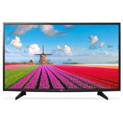 ЖК телевизор LG 43 43LJ515V черный (43LJ515V) телевизор samsung ue55mu6500u led 55 silver 16 9 3840x2160 usb rj 45 hdmi av dvb t2 c s2