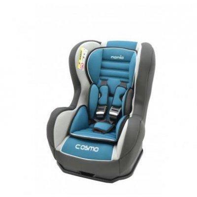 Детское автокресло Nania Cosmo SP LX (agora petrole) от 0 до 18 кг (0+/1) голубой/серый (83009), арт: 265086 -  Детские автокресла Nania