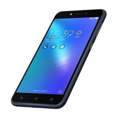 Смартфон ASUS Zenfone Live ZB501KL 32Gb черный (90AK0071-M00930) аксессуар защитная пленка asus zenfone live zb553kl luxcase суперпрозрачная 55823