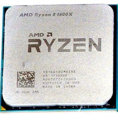 Процессор AMD Ryzen 5 1600 AM4 (YD160XBCM6IAE) (3.6GHz) OEM (YD160XBCM6IAE) процессор amd ryzen 5 1600 am4 oem yd1600bbm6iae