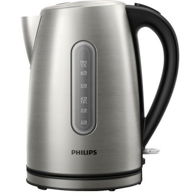 Электрический чайник Philips HD 9327/10 серебристый (HD9327/10) цена и фото