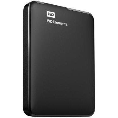 Внешний жесткий диск Western Digital WDBUZG5000ABK-WESN 500Gb (WDBUZG5000ABK-WESN) внешний жесткий диск lacie 9000304 silver