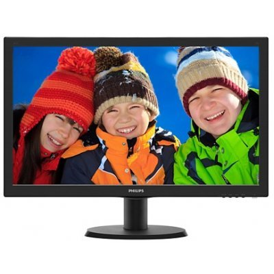 Монитор Philips 23,6'' 243V5LSB5 (243V5LSB5) монитор aoc 21 5 g2260vwq6 g2260vwq6