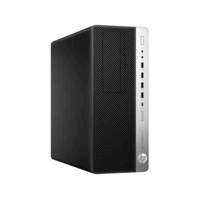 Настольный ПК HP EliteDesk 800 G3 (1KL71AW) (1KL71AW)Настольные ПК HP<br>HP EliteDesk 800 G3 TWR Core i5-6500,8GB DDR4-2400 (2x4GB),256 SSD,DVD-RW,USB kbd/mouse,Win10Pro+Win7Pro(64-bit),3-3-3 Wty<br>