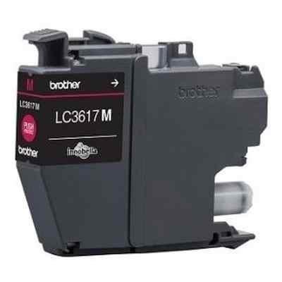 Картридж для струйных аппаратов Brother LC3617M пурпурный для MFC-J3530DW/J3930DW (550стр.) (LC3617M) картридж для струйных аппаратов brother lc3619xlm пурпурный для mfc j3530dw j3930dw 1500стр lc3619xlm