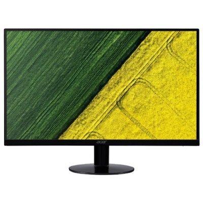 Монитор Acer 23,8 SA240Ybid (SA240Ybid)Мониторы Acer<br>ЖК-монитор с диагональю 23.8<br>тип матрицы экрана TFT IPS<br>разрешение 1920x1080 (16:9)<br>подключение: VGA, DVI, HDMI<br>яркость 250 кд/м2<br>время отклика 4 мс<br>