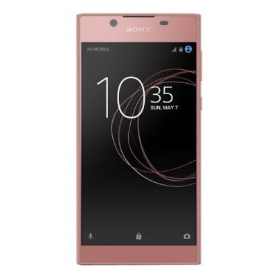 Смартфон Sony Xperia L1 Dual (G3312) Rose Gold (Розовое золото) (G3312RoseGold) защищенные смартфоны sony xperia x perfomance rose gold android 6 0 marshmallow msm8996 2150mhz 5 0 1920x1080 3072mb 32gb 4g lte [f8131rose gold]