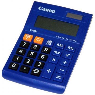 Калькулятор Canon LS-88L-BL синий (LS-88L-BL)