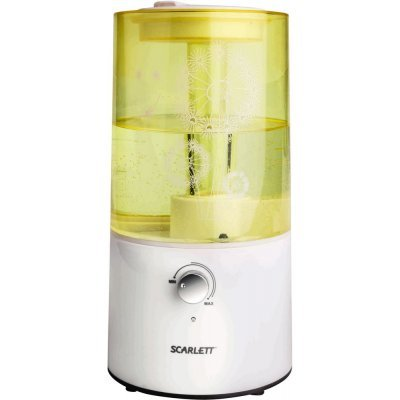Увлажнитель и очиститель воздуха Scarlett SC-AH986M01 желтый/белый (SC-AH986M01)