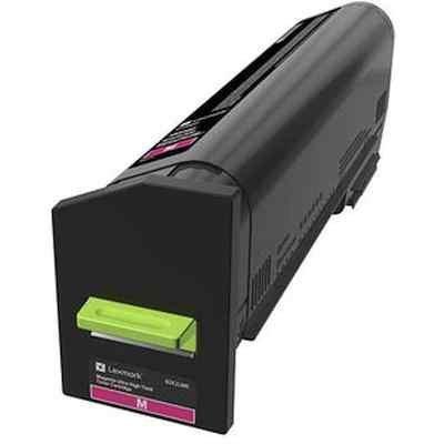 Тонер-картридж для лазерных аппаратов Lexmark пурпурного цвета для организаций (8000 стр.) для CS820, CX82x, CX860 (72K50ME) картридж lexmark 70c8hke для lexmark cs510 cs410 cs310 черный 4000стр