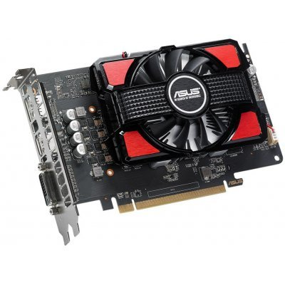 Видеокарта ПК ASUS RX550-2G AMD Radeon RX 550 2048Mb 128bit GDDR5 1183/7000 DVIx1/HDMIx1/DPx1/HDCP Ret (RX550-2G) видеокарта asus rx 550 4gb rx550 4g