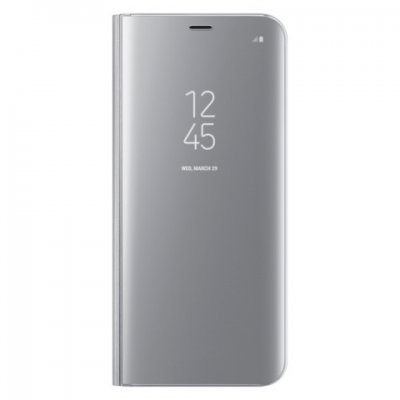 Чехол для смартфона Samsung Galaxy S8+ серебристый (EF-ZG955CSEGRU) (EF-ZG955CSEGRU) чехол клип кейс samsung protective standing cover great для samsung galaxy note 8 темно синий [ef rn950cnegru]