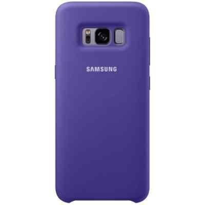 Чехол для смартфона Samsung Galaxy S8 фиолетовый (EF-PG950TVEGRU) (EF-PG950TVEGRU) клип кейс samsung silicone cover для galaxy s8 зеленый