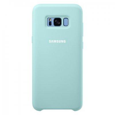 Чехол для смартфона Samsung Galaxy S8+ голубой (EF-PG955TLEGRU) (EF-PG955TLEGRU) чехол клип кейс samsung alcantara cover для samsung galaxy s8 розовый [ef xg950apegru]